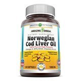 Amazing Nutrition Norwegian Cod Liver Oil
