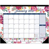 Bloom Vintage Floral Desk Calendar