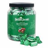 Dilettante Chocolates Peppermint Chocolate TruffleCremes Double Milk Chocolate, 28-Ounce Jar
