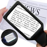 MagniPros Horizontal Handheld Magnifying Glass