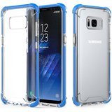 MoKo Crystal Clear Bumper Gel Galaxy S8 Plus Case