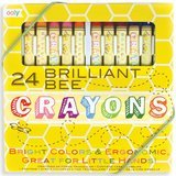 OOLY Natural Beeswax Crayons, Set of 24