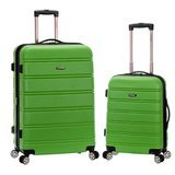 Rockland Melbourne Hardside Luggage Set
