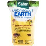 Safer Diatomaceous Earth Bed Bug, Flea and Ant Crawling Insect Killer, 4 lb.