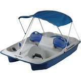 Sun Dolphin Sun Slider 5-Seat Pedal Boat with Canopy